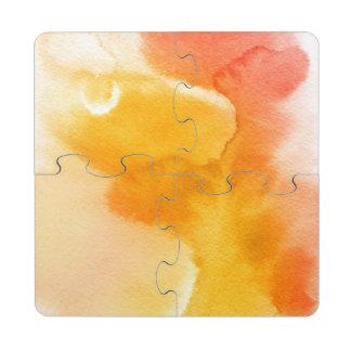 Fondo pintado a mano 13 de la acuarela abstracta