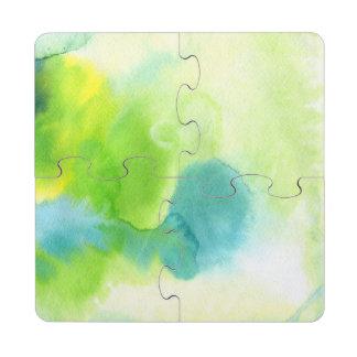 Fondo pintado a mano 16 de la acuarela abstracta