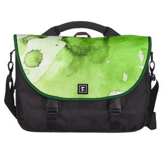 Fondo pintado a mano 3 de la acuarela abstracta bolsas de portátil