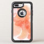 Fondo pintado a mano 4 de la acuarela abstracta funda OtterBox defender para iPhone 7 plus