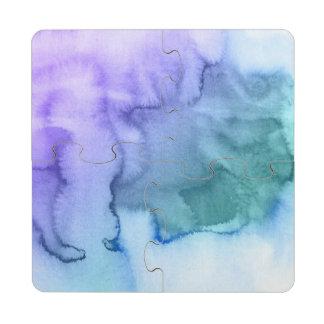 Fondo pintado a mano 6 de la acuarela abstracta