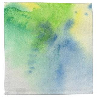 Fondo pintado a mano 8 de la acuarela abstracta servilleta de papel