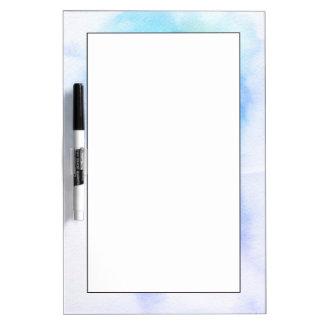 Fondo pintado a mano 9 de la acuarela abstracta pizarra blanca
