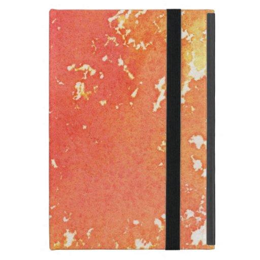 Fondo pintado a mano abstracto de la acuarela iPad mini funda