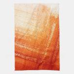 Fondo pintado a mano abstracto toalla de cocina