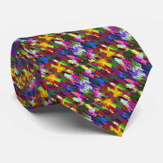 Fondo pintado a mano de acrílico abstracto corbatas