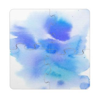 Fondo pintado a mano de la acuarela abstracta