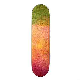 Fondo pintado acuarela abstracta patinetas personalizadas