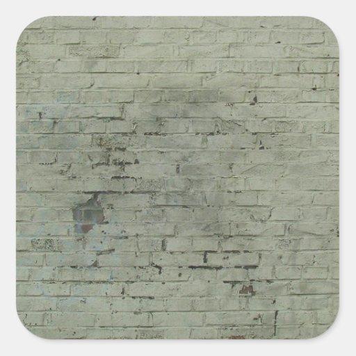 Fondo pintado gris de la textura de la pared de calcomanías cuadradas