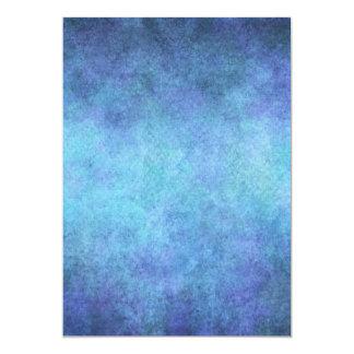 Fondo púrpura azul colorido de papel de la invitación 12,7 x 17,8 cm