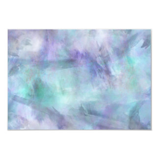 """Fondo púrpura azul en colores pastel de la invitación 3.5"""" x 5"""""""