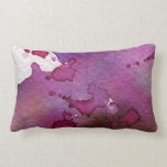 Fondo púrpura de la acuarela almohadas