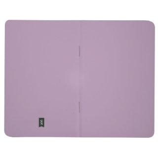Fondo púrpura del color de la tendencia de la cuadernos