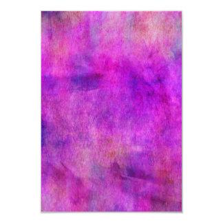 """Fondo púrpura violeta brillante de la acuarela invitación 3.5"""" x 5"""""""