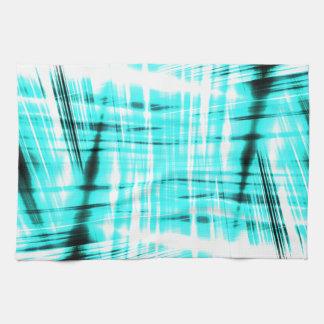 Fondo rayado azul dinámico toallas