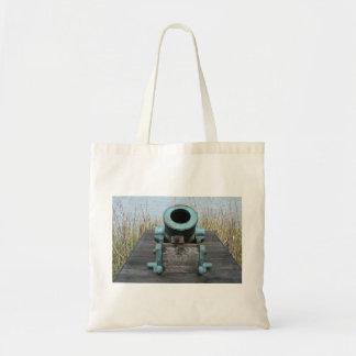 fondo rechoncho de la hierba del agua del canon bolsa de mano