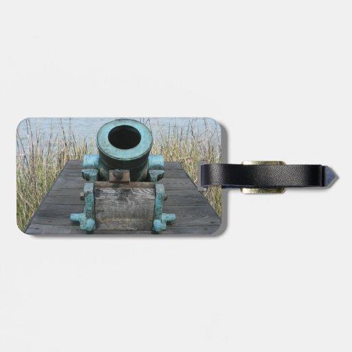 fondo rechoncho de la hierba del agua del canon etiqueta para equipaje
