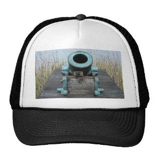 fondo rechoncho de la hierba del agua del canon gorras de camionero