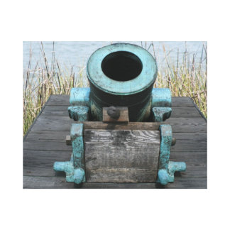 fondo rechoncho de la hierba del agua del canon impresiones en lona estiradas