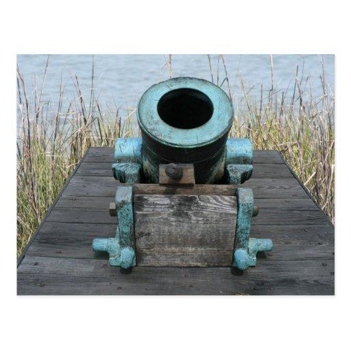 fondo rechoncho de la hierba del agua del canon postal