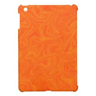 Fondo remolinado abstracto tonal anaranjado