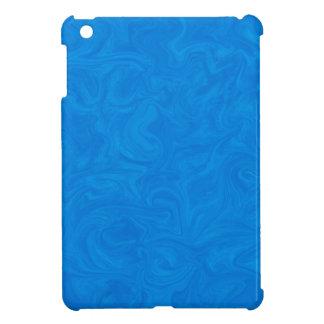 Fondo remolinado abstracto tonal azul profundo