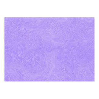 Fondo remolinado abstracto tonal de la lavanda tarjetas de visita grandes
