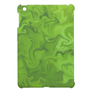 Fondo remolinado abstracto tonal de la verde lima