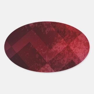 Fondo rojo abstracto etiquetas