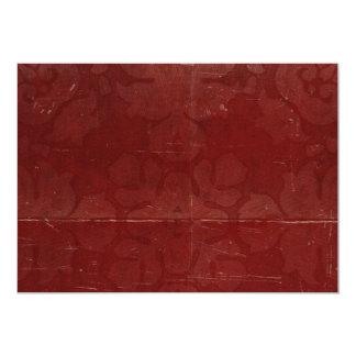 Fondo rojo arrugado doblado del modelo
