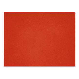 Fondo rojo caliente granoso tarjeta postal