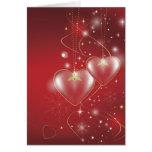Fondo rojo del papel pintado de las relaciones del felicitaciones