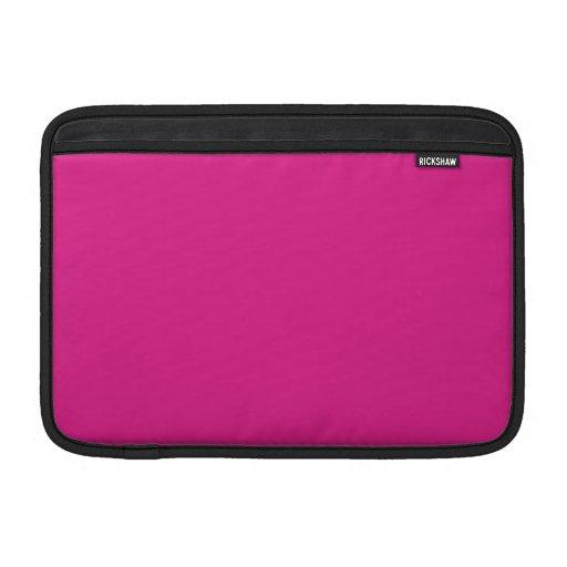 Fondo rosado de Barbie Fundas Macbook Air