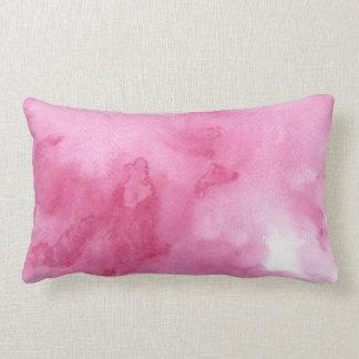 fondo rosado de la acuarela para su cojín