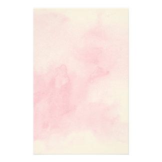 fondo rosado de la acuarela para su papeleria personalizada