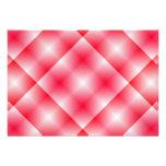 Fondo rosado de la tela escocesa anuncio personalizado