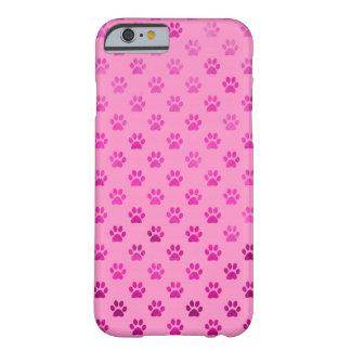 """Fondo rosado de las """"rosas fuertes"""" de la funda para iPhone 6 barely there"""