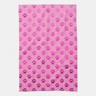 """Fondo rosado de las """"rosas fuertes"""" de la toallas"""