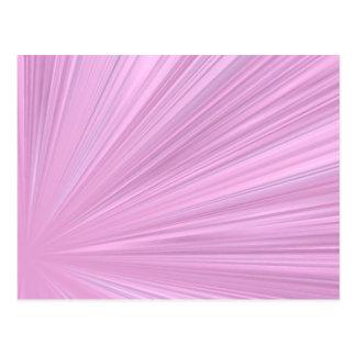 Fondo rosado del brillo postal