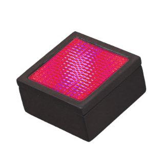 fondo rosado del modelo caja de regalo de calidad