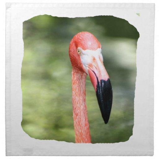 Fondo rosado del verde de la fotografía de la cabe servilletas de papel