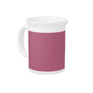 Fondo rosado en una jarra