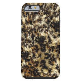 Fondo salvaje de la textura de la piel de funda para iPhone 6 tough