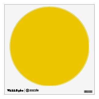 Fondo sólido amarillo brillante del color de la te vinilo