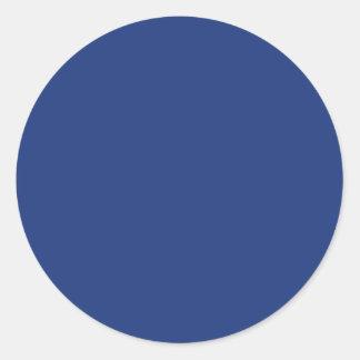 Fondo sólido azul marino del color de la tendencia etiqueta