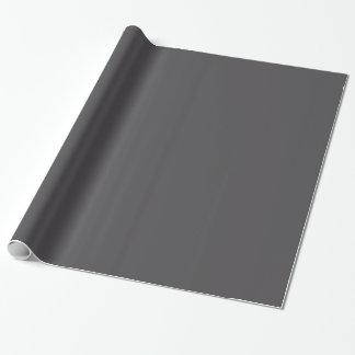 Fondo sólido gris del color de la tendencia de los papel de regalo