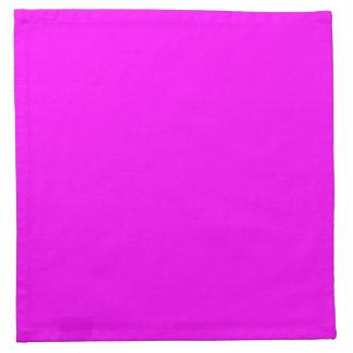 Fondo sólido rosado magenta fucsia del color de la servilleta de papel