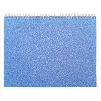 Fondo superficial congelado azul del cristal de hi calendarios