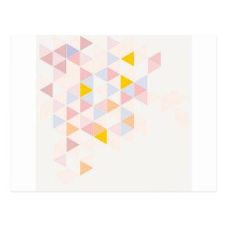 Fondo superficial moderno colorido en colores past postales