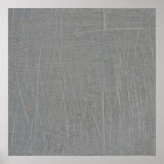 FONDO TEXTURIZADO HORMIGÓN GRIS GRIS textured16 Póster